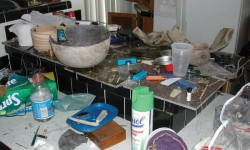 Anasazi Pots in a Meth Lab from the BLM New Mexico