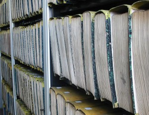 Archive File register. Photo by moi