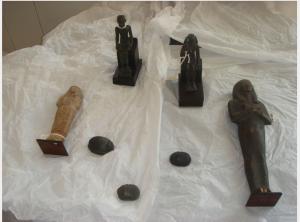 Bijbels Museum Egyptian items